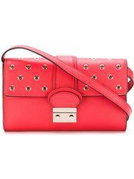 декорированная сумка с люверсами Red Valentino