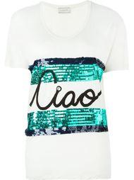 футболка с принтом 'ciao' Lanvin