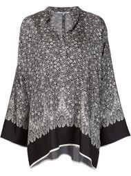 блузка с кружевным узором Helmut Lang