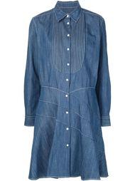 платье-рубашка с простроченным узором Sonia Rykiel
