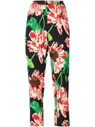 брюки с цветочным принтом  Stella McCartney