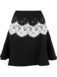 кружевная юбка Lanvin