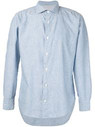 """джинсовая рубашка с принтом """"пейсли"""" Eleventy"""