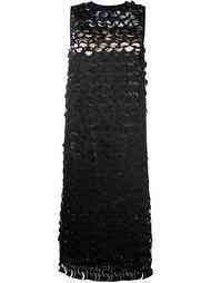 платье с перфорированным дизайном  Paskal