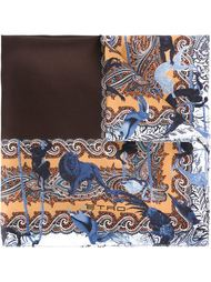 нагрудный платок с контрастной окантовкой Etro