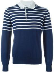 полосатый свитер-поло Brunello Cucinelli