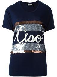 футболка с аппликацией 'ciao' Lanvin