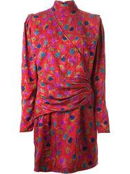 короткое платье в принт  Emanuel Ungaro Vintage