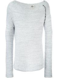 свитер с широким вырезом  Lost & Found Ria Dunn