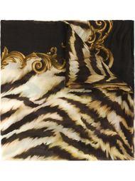 шарф с тигровым принтом Balmain