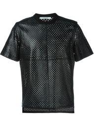 перфорированная футболка  Givenchy
