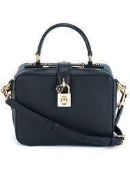 сумка с золотистыми деталями Dolce & Gabbana