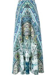 юбка макси с принтом пейсли  Etro