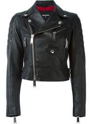 укороченная байкерская куртка Dsquared2