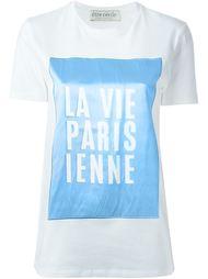 футболка с контрастной панелью Être Cécile