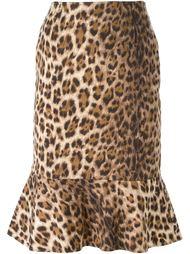 юбка с леопардовым принтом  Moschino Vintage