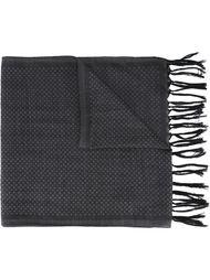 шарф с бахромой в горох Eleventy