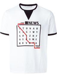 футболка 'Wordsearch' J.W.Anderson