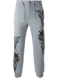 спортивные брюки с абстрактным принтом Etro