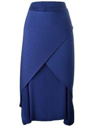 драпированная юбка Issey Miyake