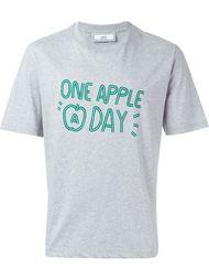 футболка с принтом Apple Ami Alexandre Mattiussi
