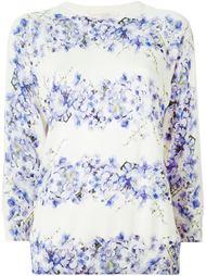 свитер с цветочным принтом Giambattista Valli