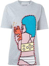 футболка с аппликацией Michaela Buerger
