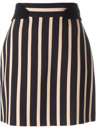 короткая юбка в полоску  Emanuel Ungaro