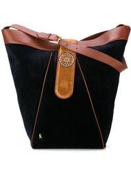 бархатная сумка-мешок на плечо Roberta  Di Camerino Vintage