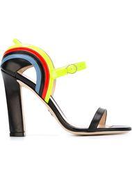 босоножки на массивном каблуке  Paula Cademartori