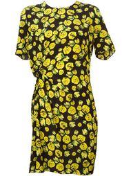 платье с цветочным принтом Lanvin