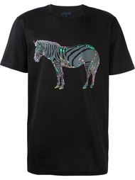 футболка с принтом зебры Lanvin