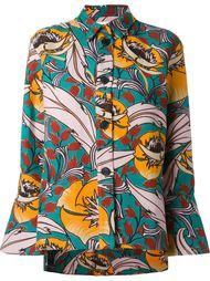 пиджак с цветочным принтом Marni