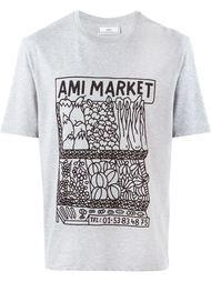 футболка с принтом фруктов и овощей Ami Alexandre Mattiussi