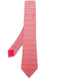 галстук с орнаментом арабеска Hermès Vintage