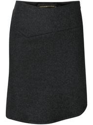 асимметричная юбка  Alexandre Vauthier