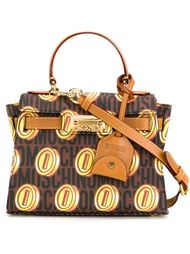 монограммная сумка-тоут  Moschino