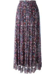 длинная юбка с абстрактным принтом Iro
