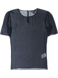 прозрачная блузка  Donna Karan