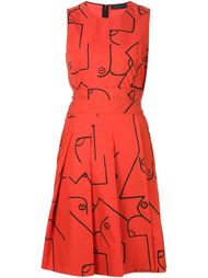 платье 'Fauve'  Calvin Klein Collection