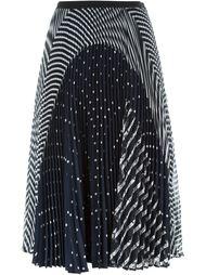 плиссированная юбка с принтом  Antonio Marras