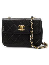 сумка мини через плечо с логотипом  Chanel Vintage