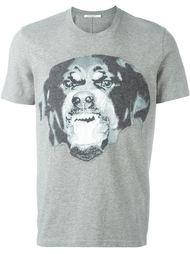 футболка с принтом ротвейлера Givenchy