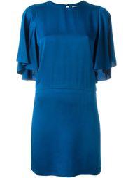 платье с рукавами по локоть Lanvin