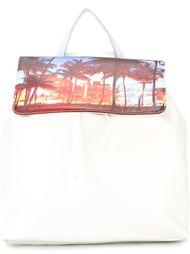 рюкзак с принтом пальм Joshua Sanders