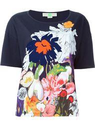 футболка с цветочным принтом  Stella McCartney