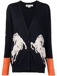 кардиган с изображением лошади Stella McCartney