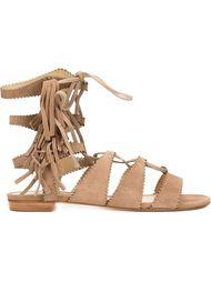 сандалии со шнуровкой Schutz
