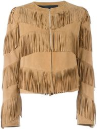 куртка с бахромой  Drome