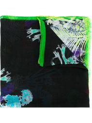 шарф с тропическим принтом Etro